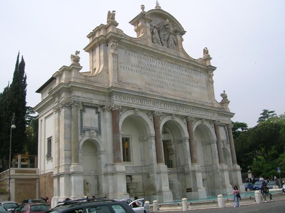 Fontanone di Roma al Gianicolo Giorno