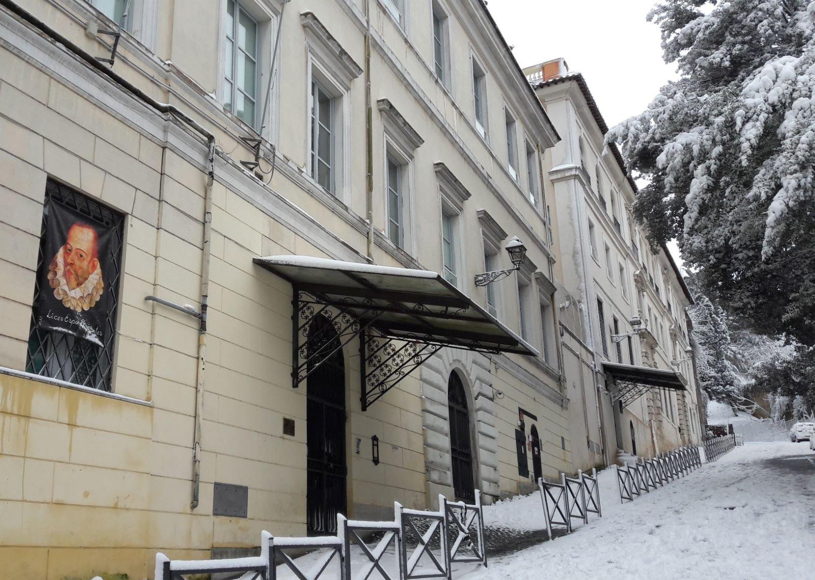 Strada Liceo neve 2018